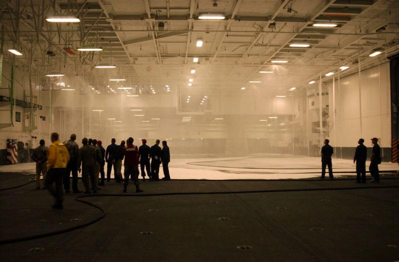 overhead sprinklers smoke detector - vape stop